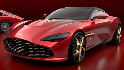 SPORTS CAR ASTON MARTIN DBS GT ZAGATO