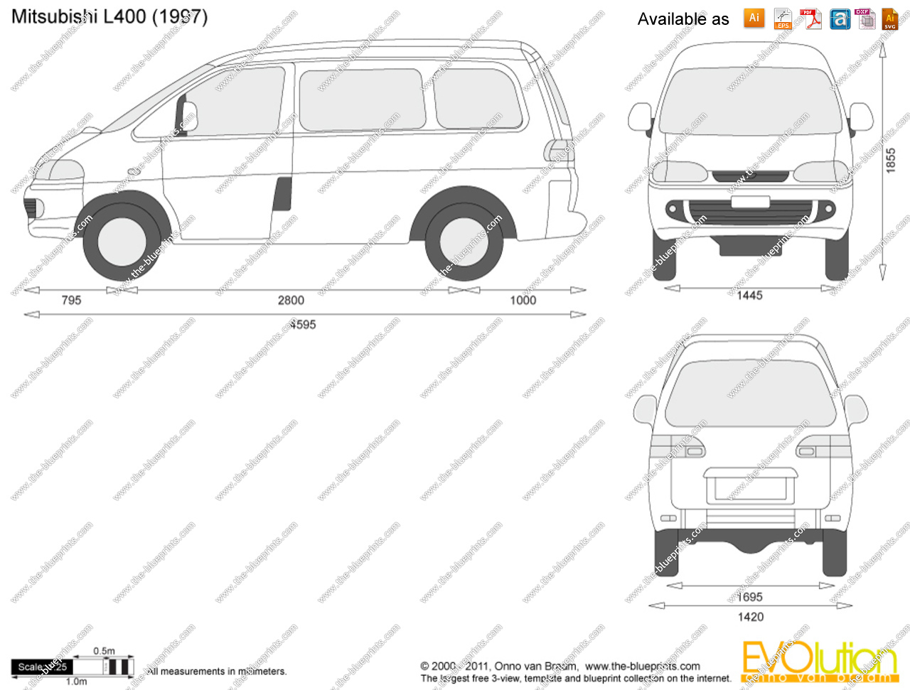 Mitsubishi L400 Pictures Information And Specs