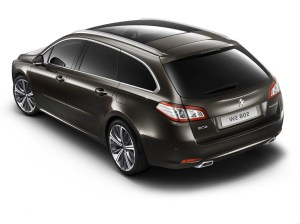 2015 Peugeot 508 sw – pictures, information and specs