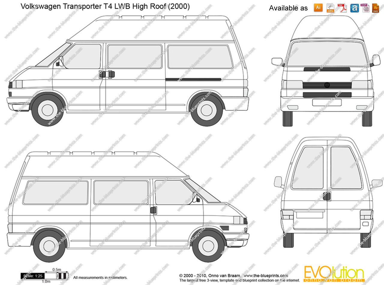 Volkswagen T4 Transporter Pictures Information And