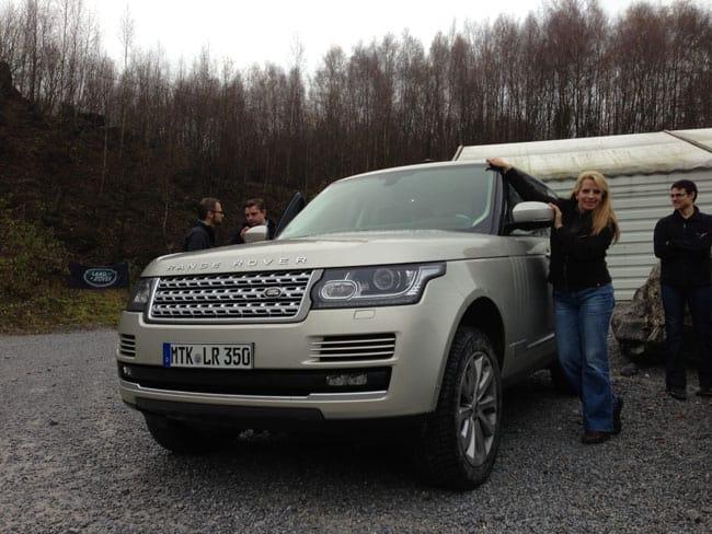 Der neue Range Rover und die Auto-Diva