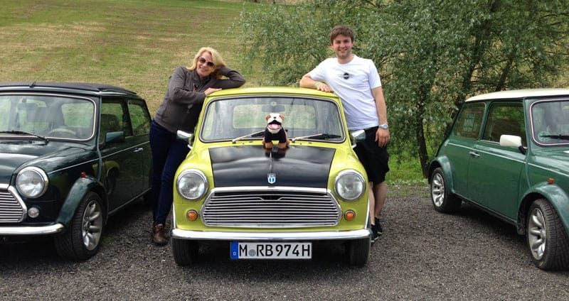 Mr Bean Mini Auf Dem International Mini Meeting