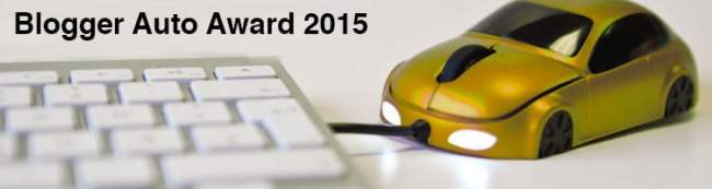 Blogger Auto Award