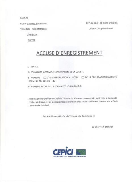 certificat de cession vehicule