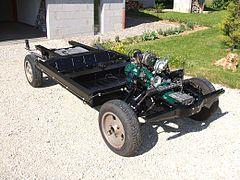 chassis de 2cv neuf