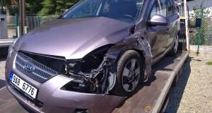 kia cee' d sw dopravni nehoda