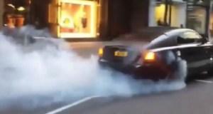 burnout-rolls-royce-wraith-video