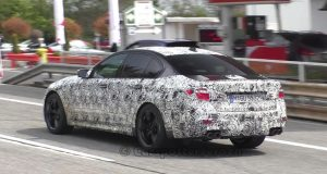 bmw m5 spy video