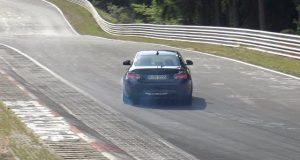 BMW M2 CS Nurburgring spy video