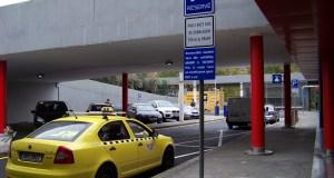taxi protestní jízda