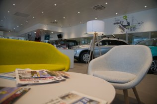 CITROEN SHOWROOM_FRANCE_Dijon_ZONE ATTENTE