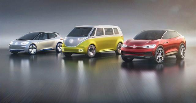 Volkswagen I.D., I.D. BUZZ, I.D. CROZZ