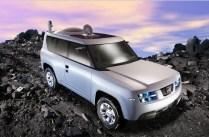 """2006 – Koncept Terranaut """"Jednalo se o zkušební verzi oblíbeného SUV Nissan Pathfinder zaměřeného na dobrodruhy, vědce a geology, kteří se musí dostat do extrémních míst po celé zemi."""""""