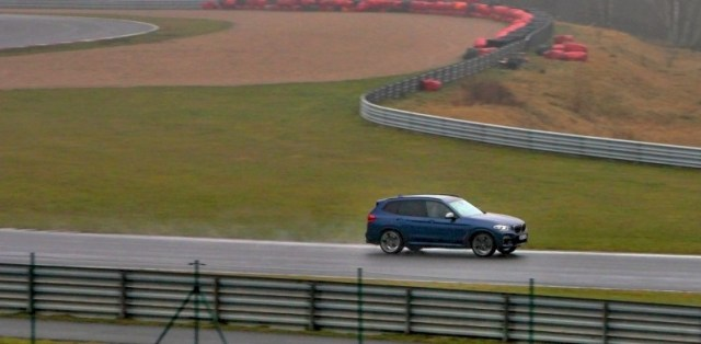 BMW X3 M40i Autodrom Most