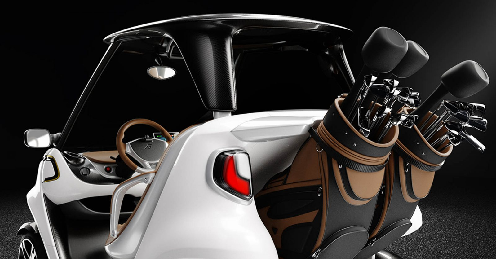 Garia_Golf_Car_Inspired_by_Mercedes-Benz_Style_rear_detail_white_01-1