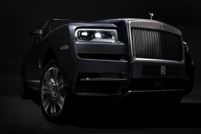 Rolls-Royce Cullinan & sériová kola
