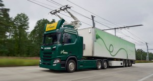 Scania R 450 6x2 Highline with pantograph
