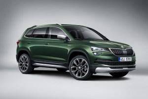 Škoda představila model Karoq ve verzi Scout