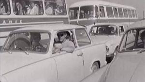 cestovani na dovolenou v roce 1976 - video