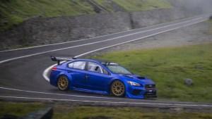 Legendární silnice hostila Marka Higginse za volantem Subaru STI Type RA