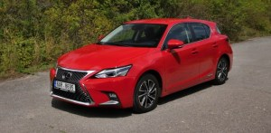 Test hybridu Lexus CT 200h