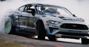 Nurburgring drift - Vaughn Gittin Jr. - Ford Mustang RTR