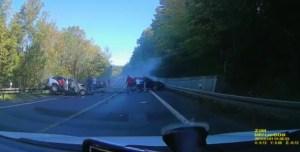 Šílená nehoda na Slovensku. Poláci v super autech si ze silnice udělali závodní dráhu a způsobili tragickou nehodu