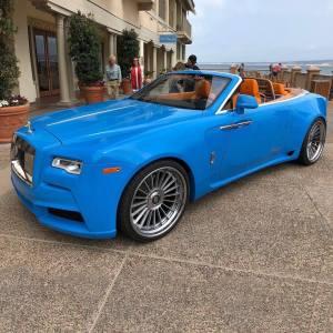 Jak úplně zazdít eleganci Rolls-Royce Dawn? Poslat ho k tuningové firmě