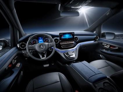 Weltpremiere Concept EQV: Concept EQV: Mercedes-Benz zeigt Ausblick auf die elektrische Zukunft der Premium-GroßraumlimousineWorld premiere of the Concept EQV: Concept EQV: Mercedes-Benz is providing an insight into the electric future of the premium MP