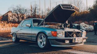 Mercedes-Benz-450-SLC-motor-Toyota-Supra- (4)