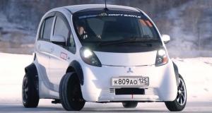 Mitsubishi i-MiEV drift
