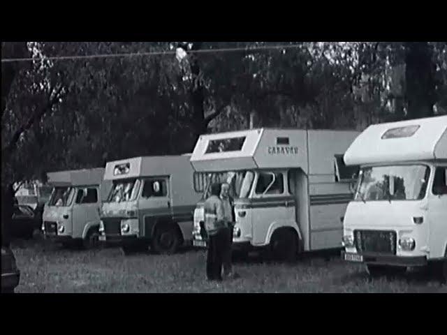 Jak vypadal sraz karavanů před 35 lety? Do Piešťan dorazilo na 2000 návštěvníků