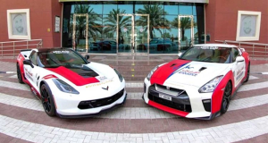 Dubai-Ambulance-chevrolet-corvette-nissan-gt-r