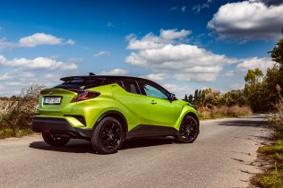 Toyota C-HR Neon Lime