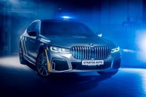 Policie bude jezdit hybridními luxusními limuzínami BMW