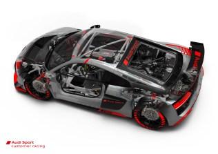 Audi R8 LMS GT4 - tech