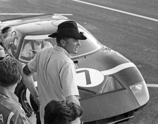 Carroll Shelby, 24 Hours of Le Mans, Le Mans, 20 June 1965. (Photo by Bernard Cahier/Getty Images)