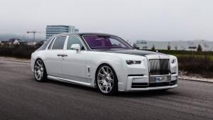 Spofec upravil Rolls-Royce Phantom. Zaměřil se na design i na motor