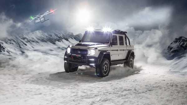 Brabus udělal z Mercedes-Benzu třídy G monstrózní pick-up. Je skoro šest metrů dlouhý a na korbě má dron
