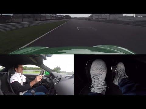 Takhle to vypadá, když řídí profesionál! Mark Webber prohnal Porsche 718 Cayman GTS 4.0