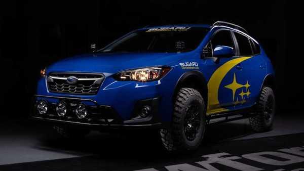 Subaru XV ještě nikdy nevypadalo tak dobře. Úprava má připomínat offroadový speciál