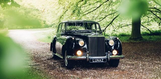 Elektrický Rolls-Royce Silver Cloud