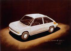 11-1967 - Etude design Renault 5