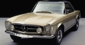 Brachte volle Alltagstauglichkeit in die SL-Reihe: Mercedes-Benz 230 SL (Baureihe W 113, 1963-1971). Mercedes-Benz 230 SL (W 113 series, 1963-1971)