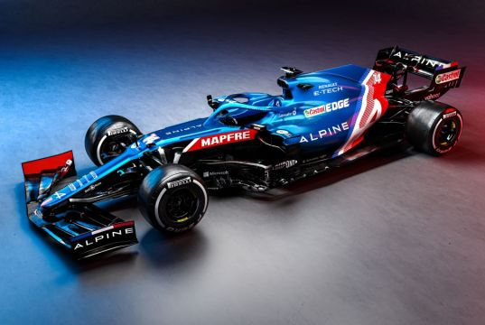 1-Alpine F1 Team - Lancement de la saison 2021
