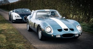 Bugatti Veyron Grand Sport Vitesse a Ferrari 250 GTO