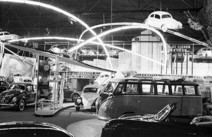 Volkswagen T1 Samba - IAA Frankfurt 1951