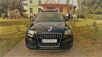 Audi Q7 na ślub Kraków