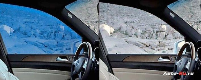 Электронная тонировка стёкол автомобиля