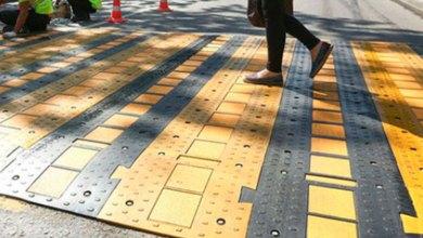 Photo of Резиновый пешеходный переход — новое в дорожной разметке